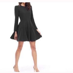 Gal meets glam Celeste fit & flare black dress 10